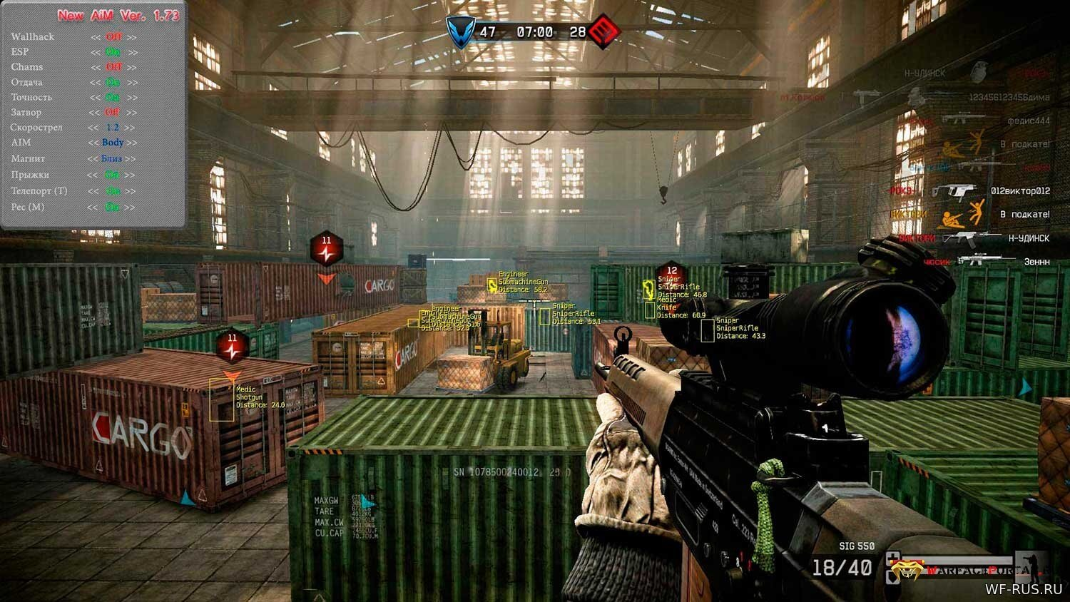 Jester ENGINE на Warface RU